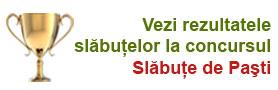 Concurs slabit sanatos - Slabute de Pasti, editia 2011
