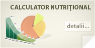 Calculator nutriional