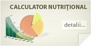 Calculator nutriţional